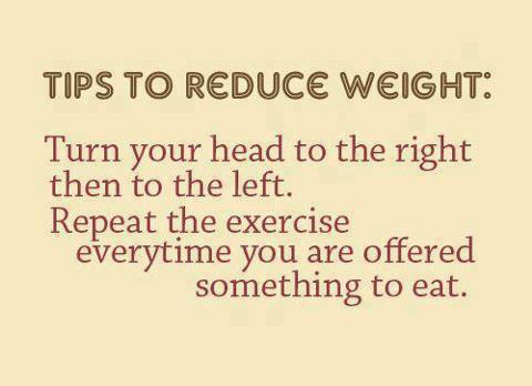 Tip To Reduce Weight