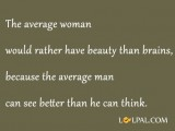 Average Man vs Woman