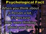 When You Think About A Person