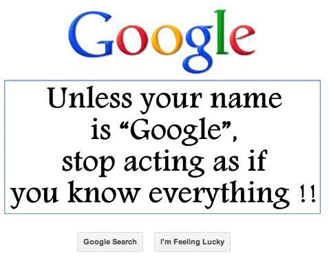 Stop Acting As If You Know Everything