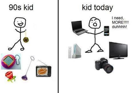 90′s Kids vs Today's Kids