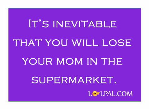 Losing Mom In Supermarket