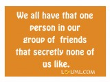 That one person in our group